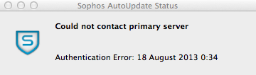 Installed over version 8.0.16C Sophos experiences some issues.