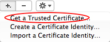 GetCertificate
